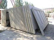 Забор железобетонный (панели ограждений)