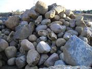 Камень бутовый,  валун речной,  булыжник,  доставка ЗиЛ 6 т. по Алматы