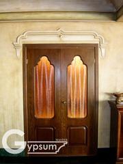 Обрамление двери из гипса 8 (727) 971 68 88