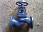 Клапаны (вентили) запор фланцевые стальные Ру 40