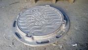 Люки чугунные канализационные А 125 Тип С